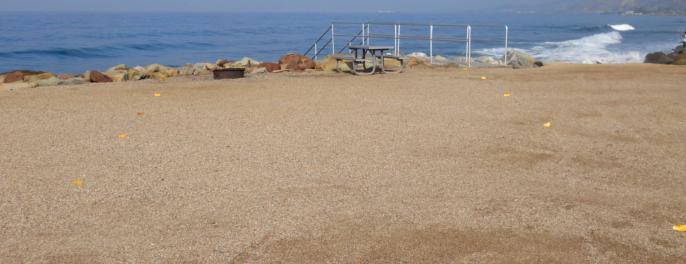 Faria Beach Camping Ventura County