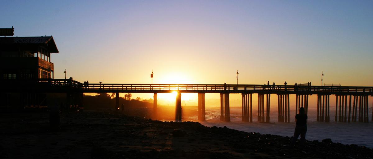 Sunrise Pier Ventura