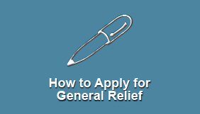 How To Apply for General Relief