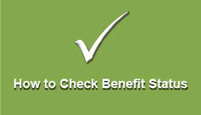 How to Check Benefit Status