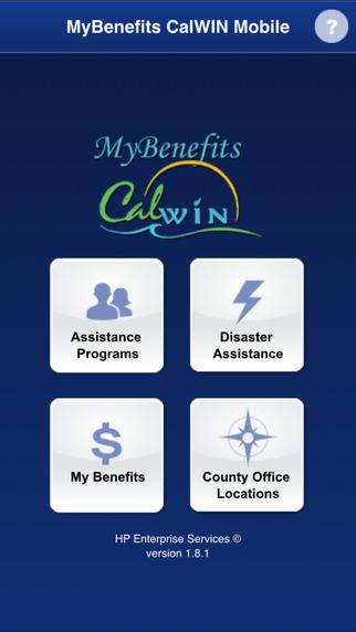 MyBenefits CalWIN Mobile