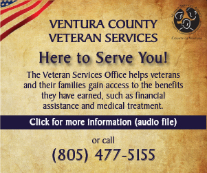 Ventura County Veteran services information audio file