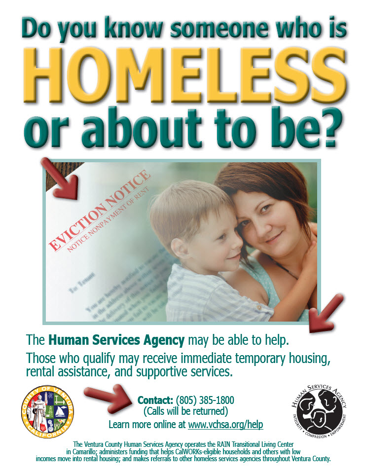 Services For Homeless People - Ventura County-2099