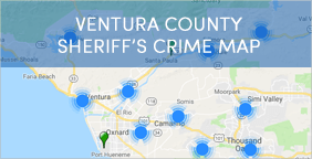 Ventura County Sheriffs Crime Map