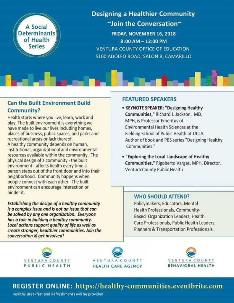 Nov 16 Health Equity Forum