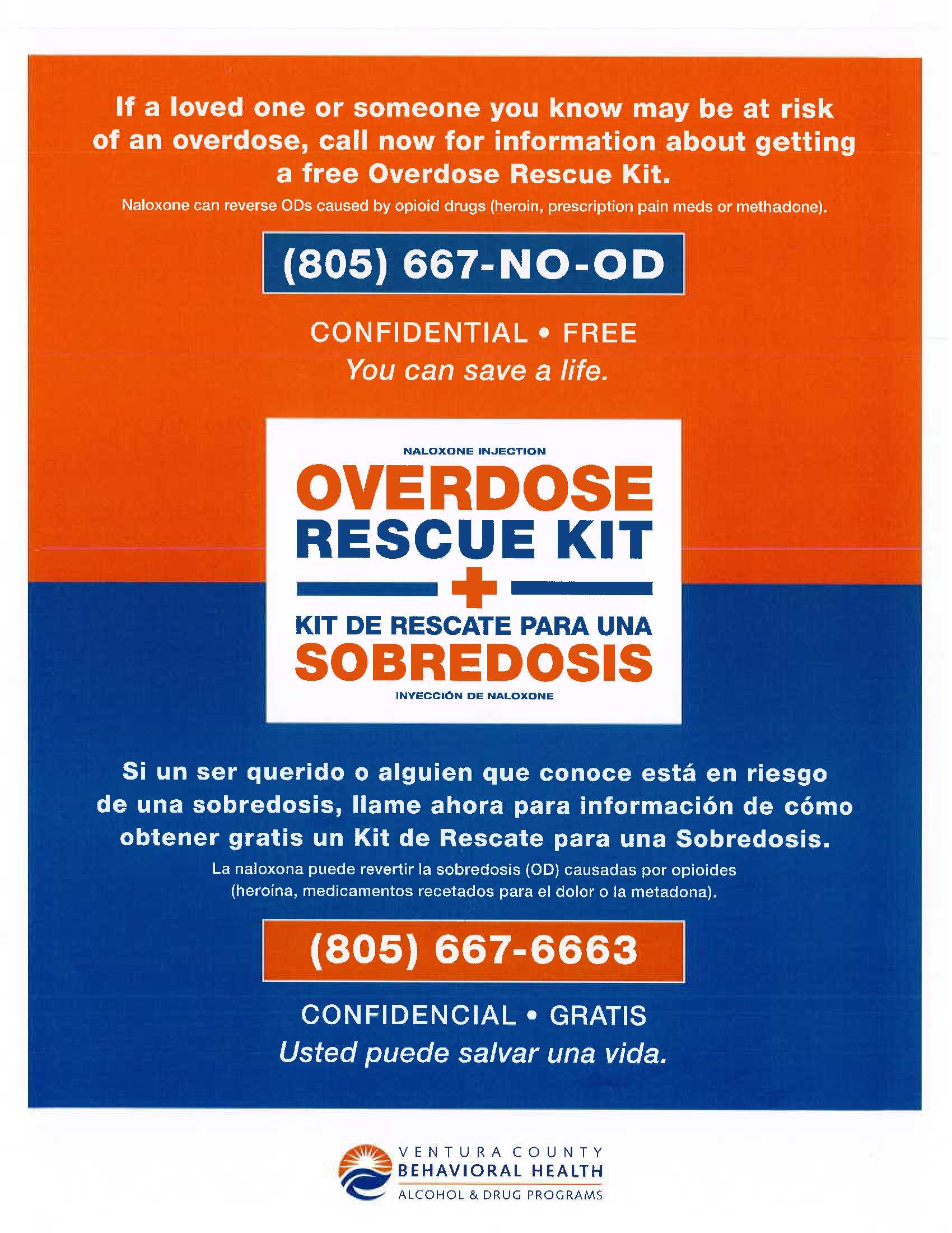 Overdose Rescue Kit