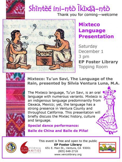 Dec1Foster Library Mixteco Language