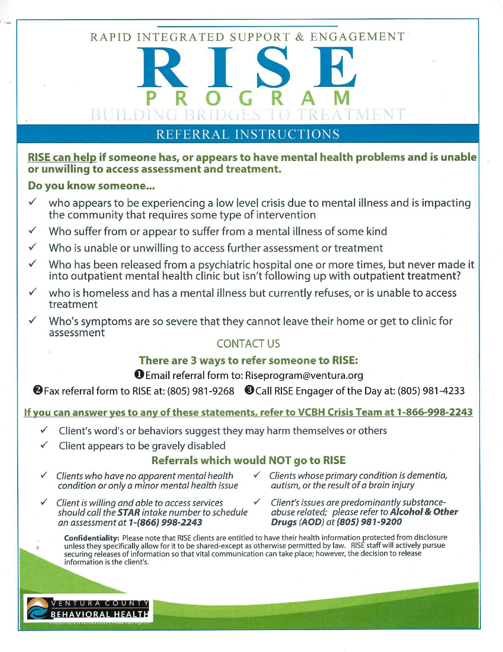 Rapid Integrated Support and Engagement Program