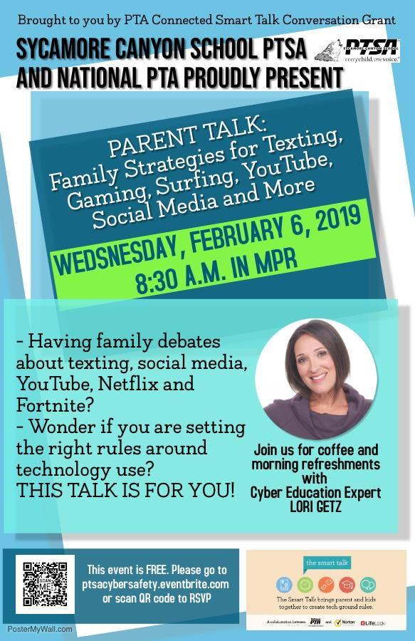 Feb 6 Parent Talk