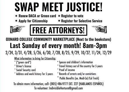 Various Dates Swap Meet Justice