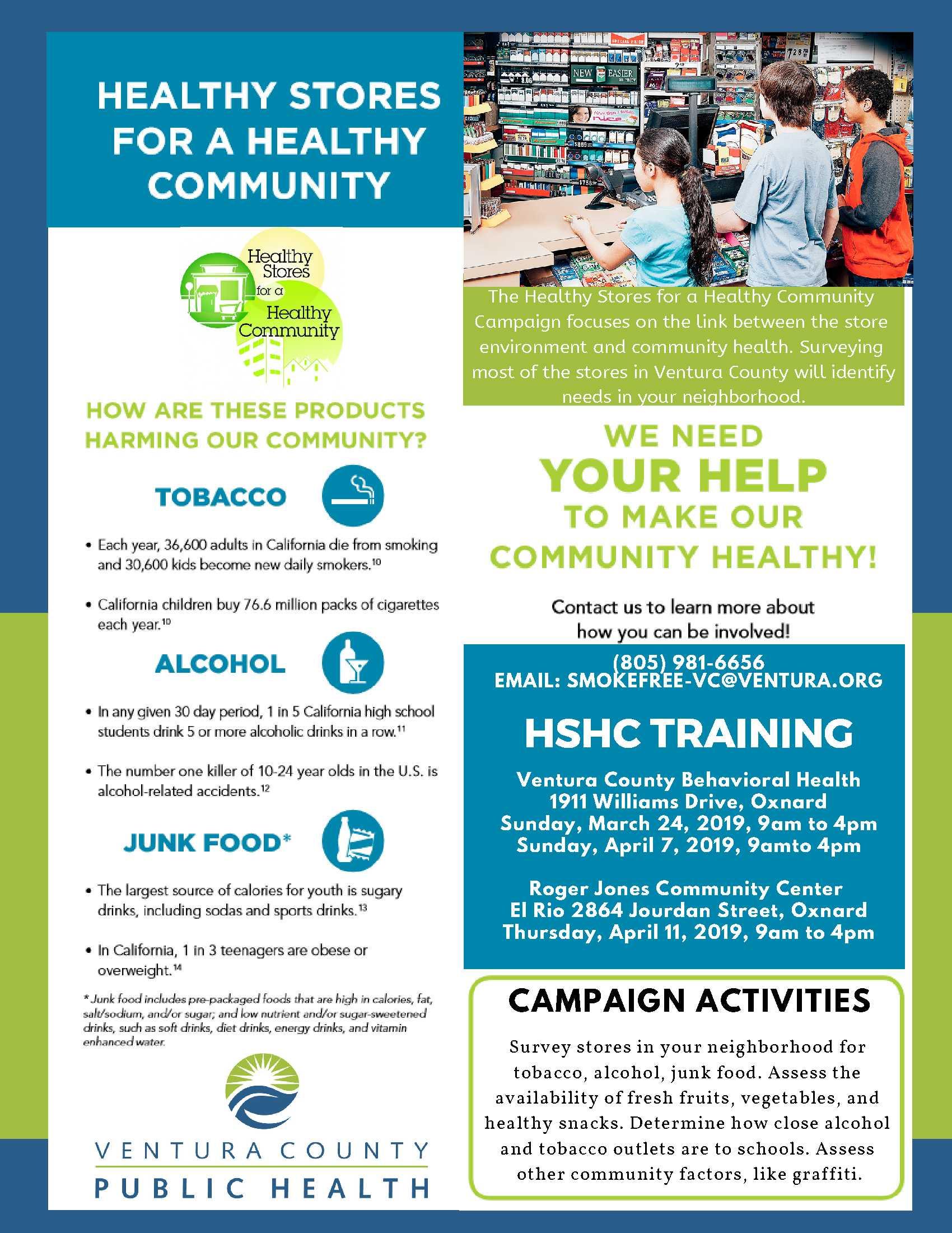 Apr 7 HealthyStores Campaign Flyer - Ventura County