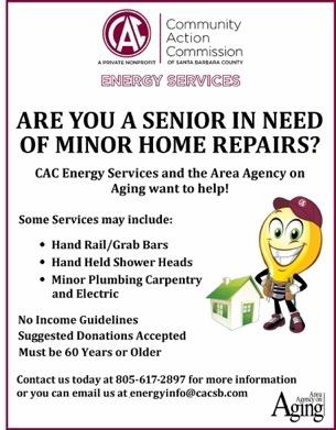 CAC Senior In Need Of Home Repair