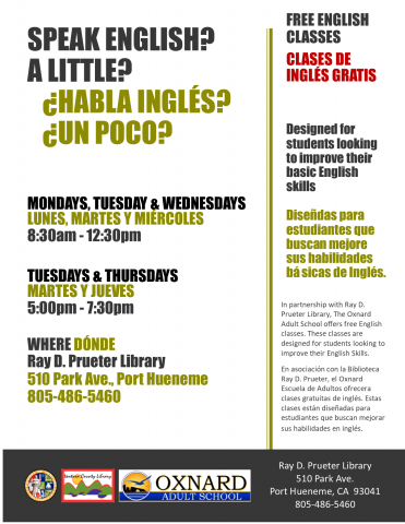 English Classes Port Hueneme