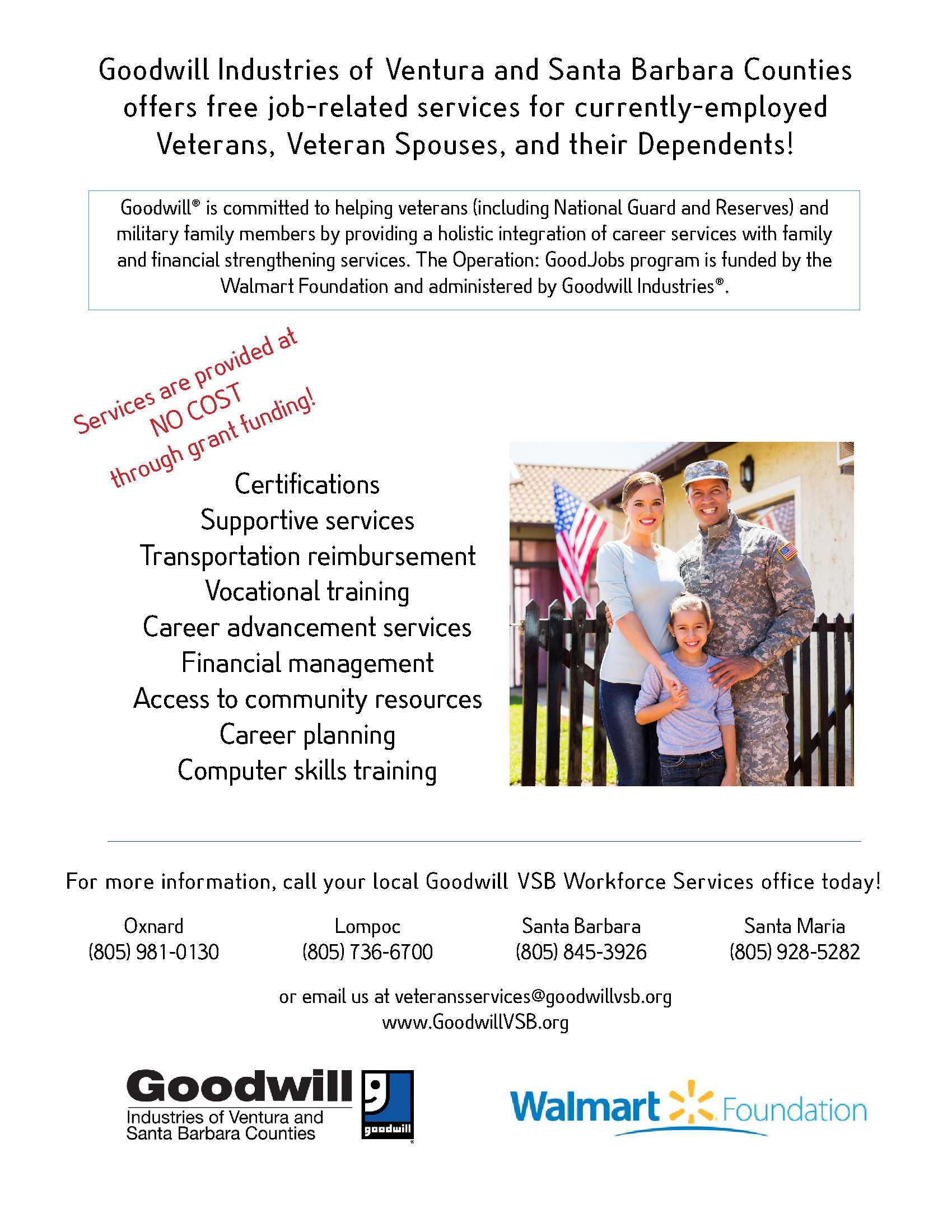Goodwill Veterans Flyer Currently Employed