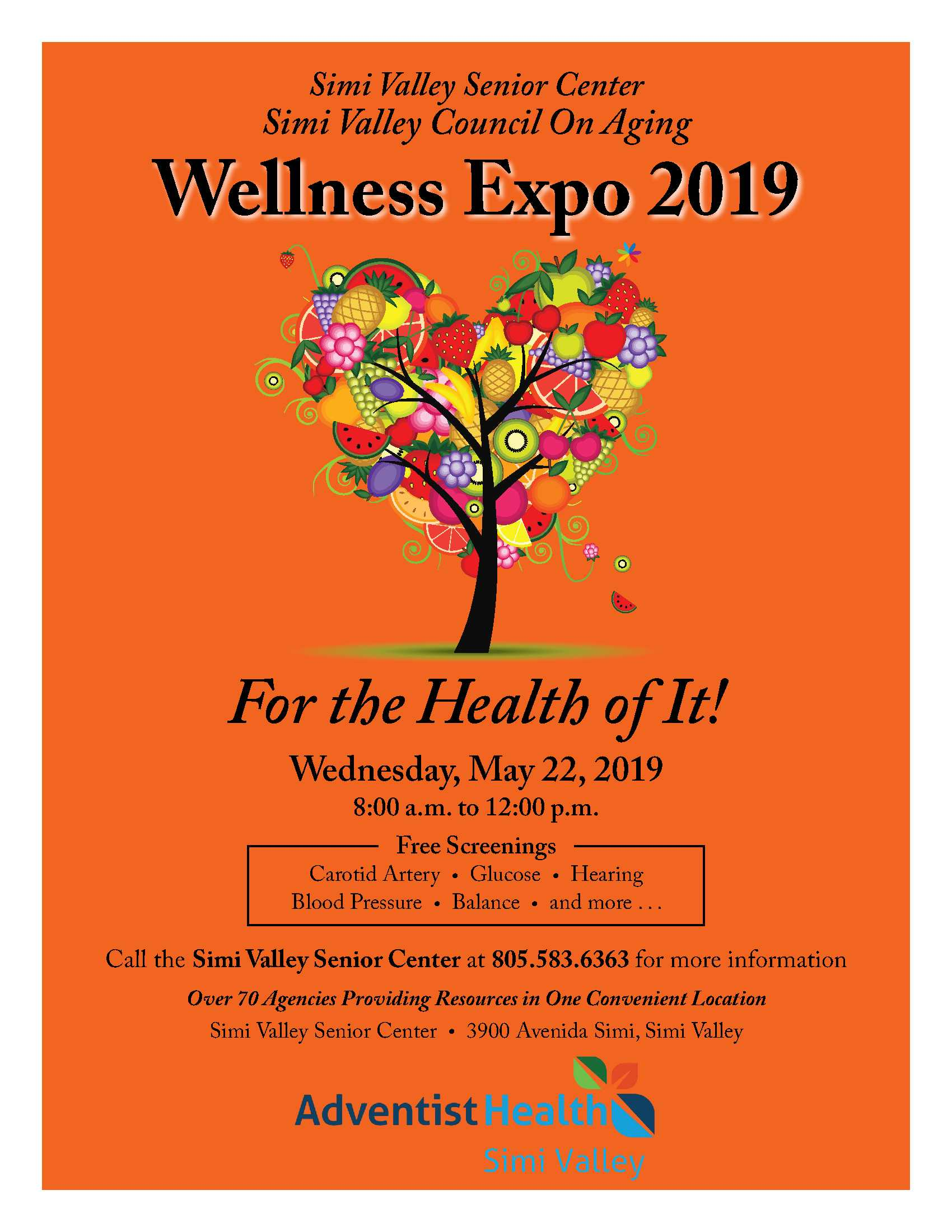 May 22 Wellness Expo 2019