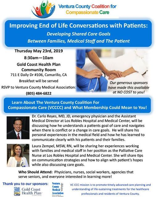 May 23 End Of Life Conversations With Patients
