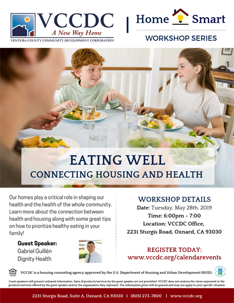 May 28 VCCDC Housing And Health Workshop