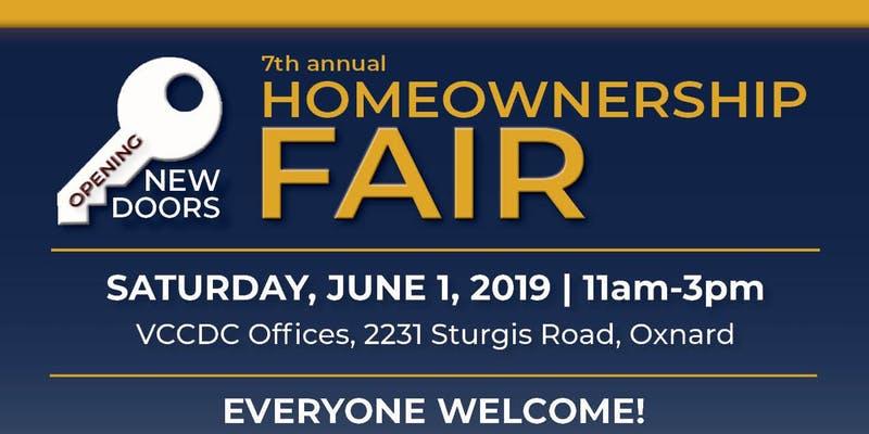 June 1 VCCDC Homeownership Fair Oxnard