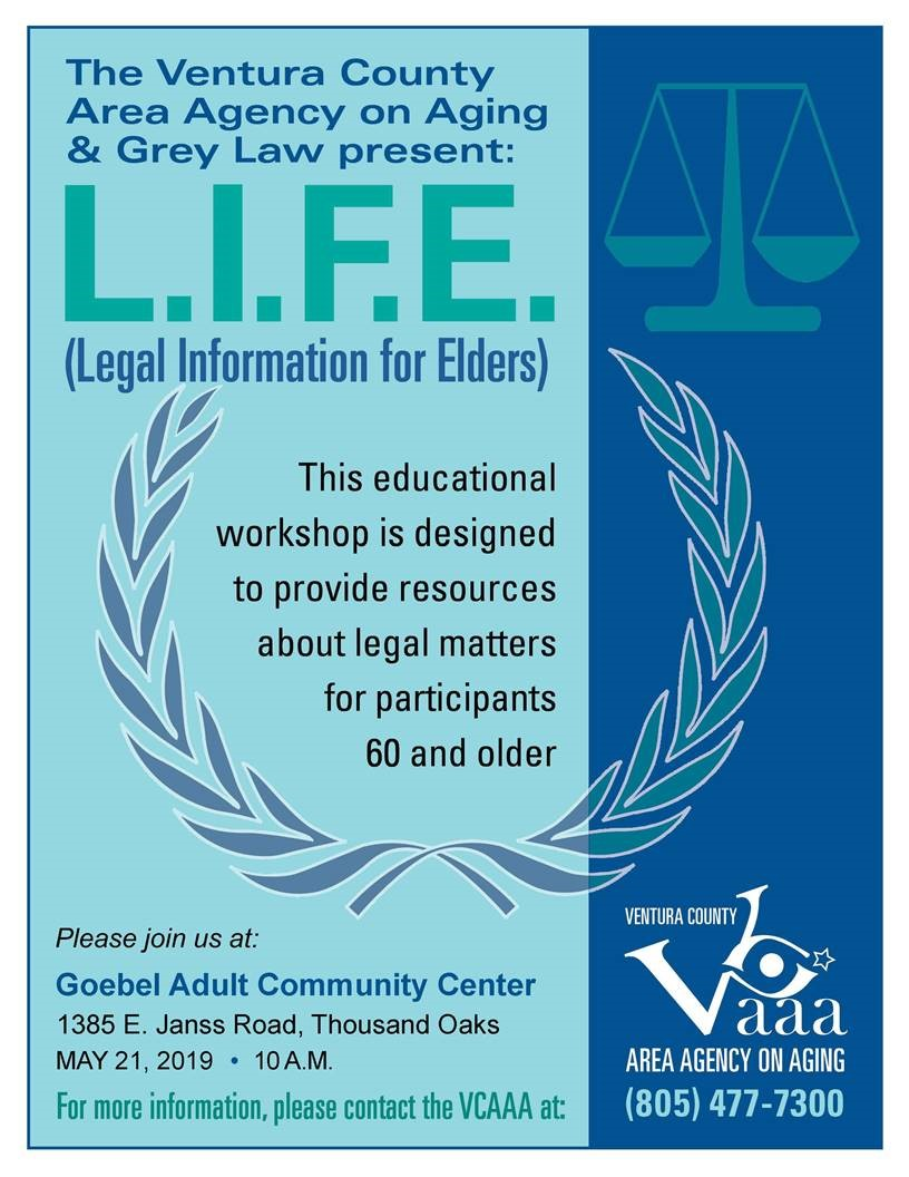 May 21 LIFE Legal Info VCAAA