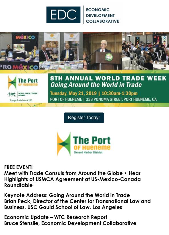 May 21 World Trade Week