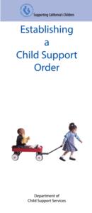Establishing a Child Support Order