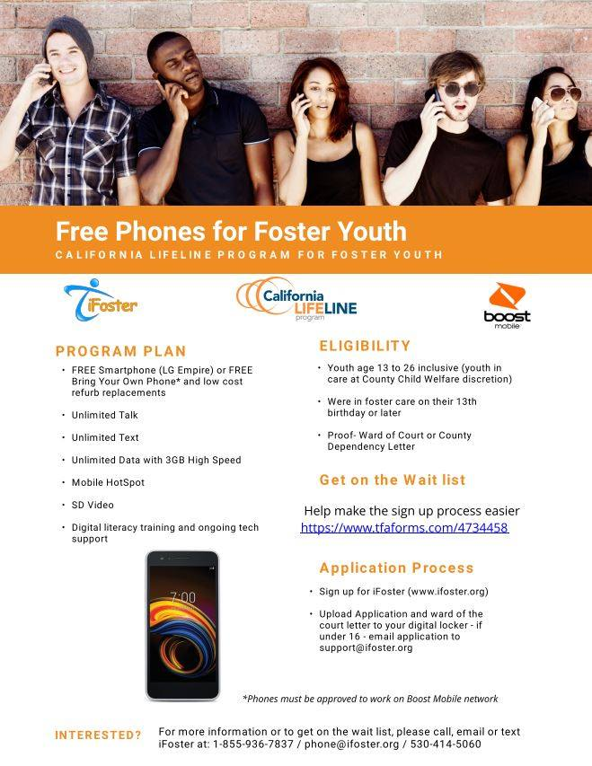 Free Phones For Foster Youth