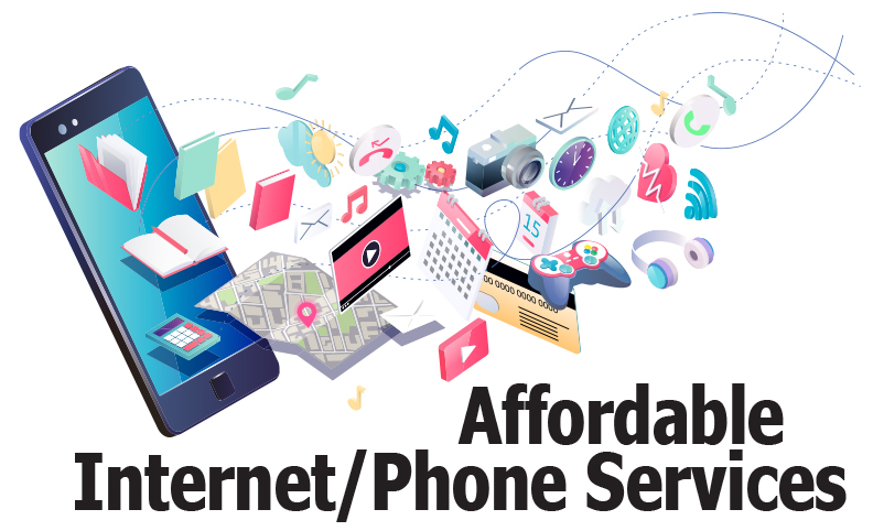 Affordable Internet/Phone Services
