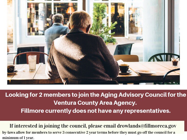 Aging Advisory Council For VCAAA