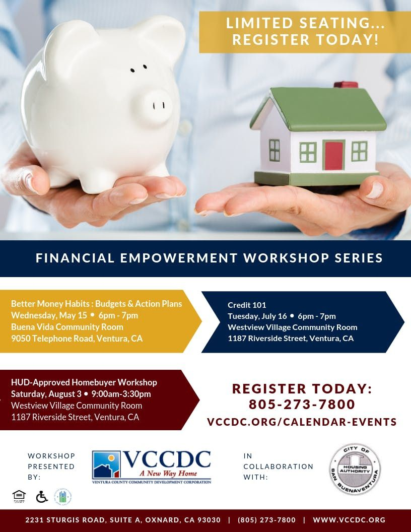 August 3 HUD VCCDC Homebuyer Workshop