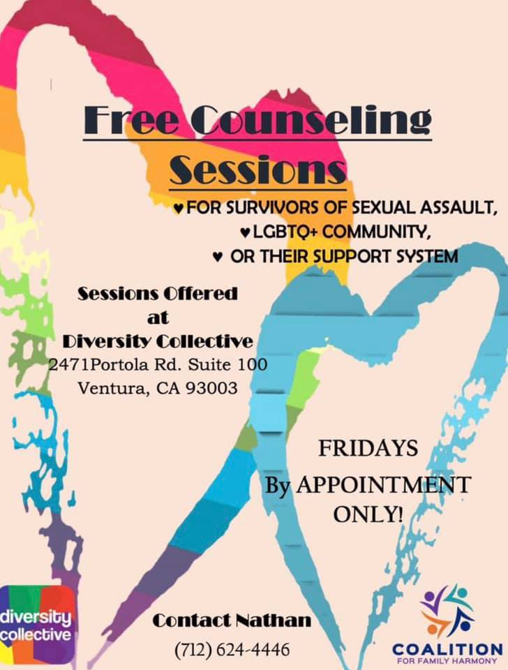 Free Counseling Sessions Diversity Collective