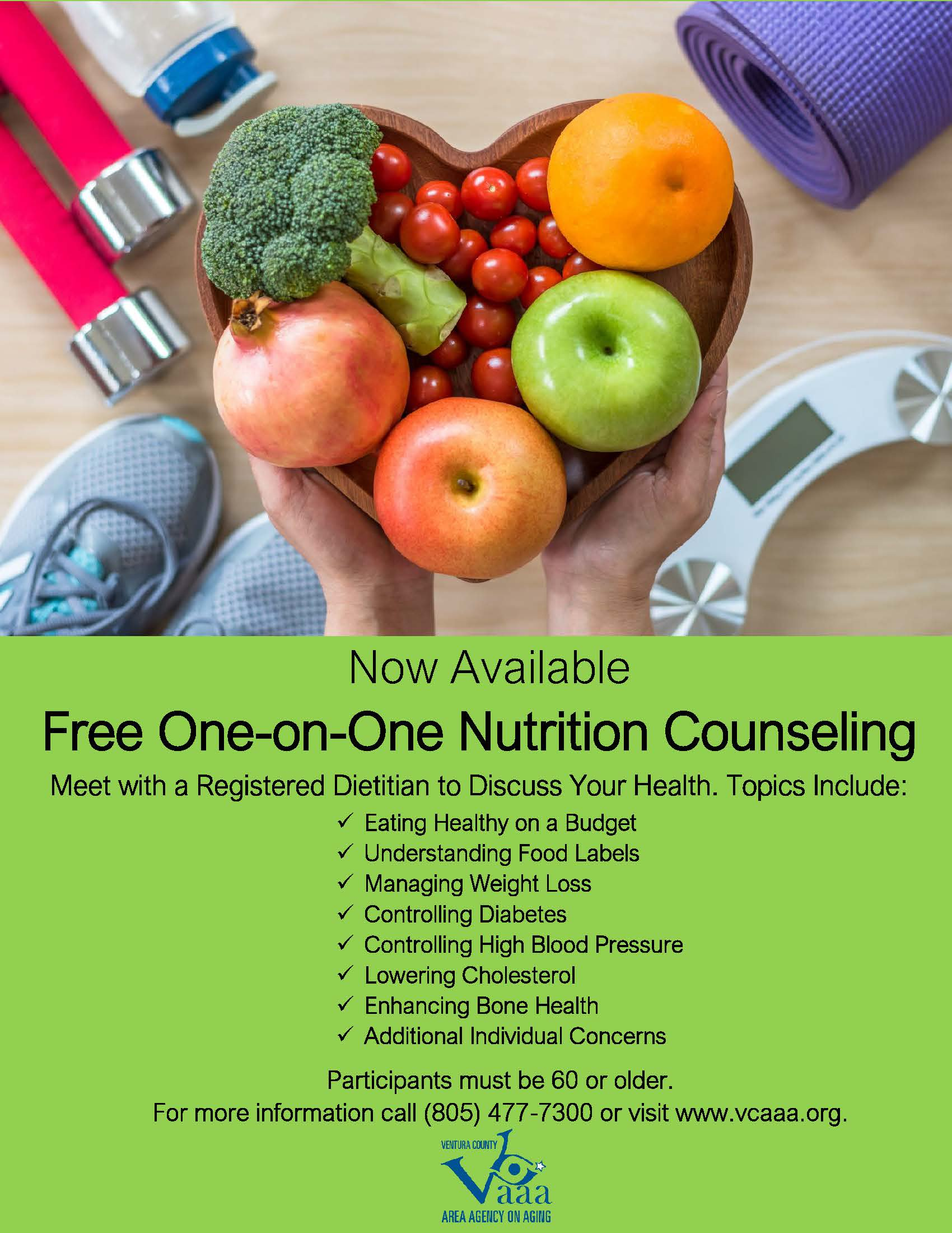 Free Senior Nutrition Counseling