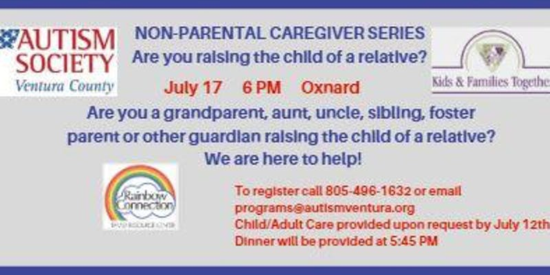 July 17 Raising The Child Of A Relative Autism Society