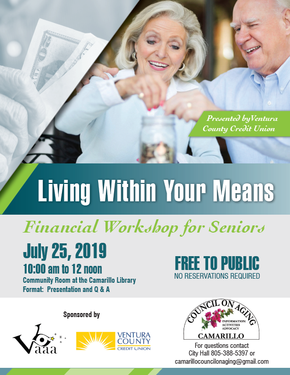 July 25 Living Within Your Means For Seniors