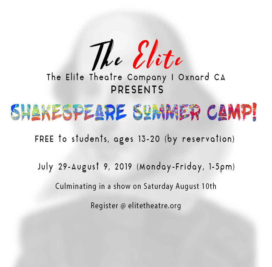 July 29 To August 9 Free Shakespeare Camp