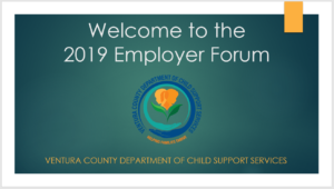 Welcome to the 2019 Employer Forum