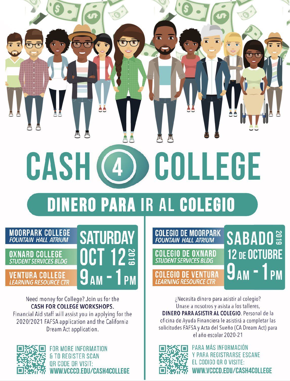 October 12 Cash For College Ventura College