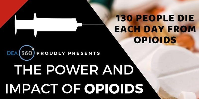 October 22 Power And Impact Of Opioids Simi Valley