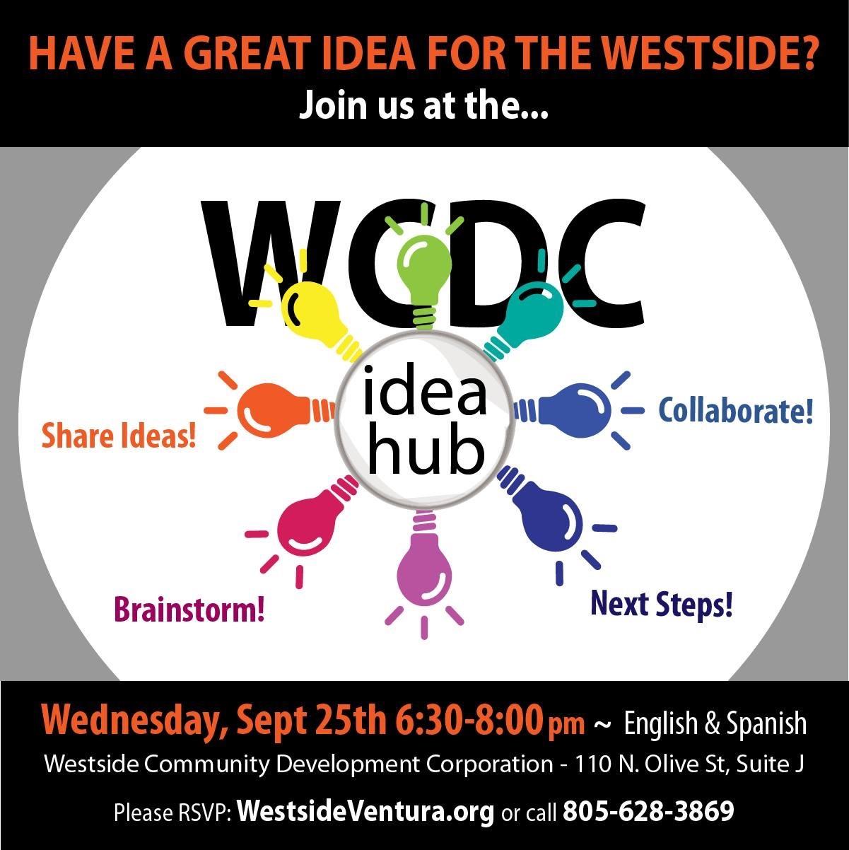 September 25 Westside Ventura Idea Hub