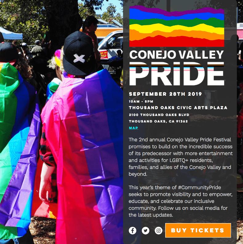 September 28 Conejo Valley Pride