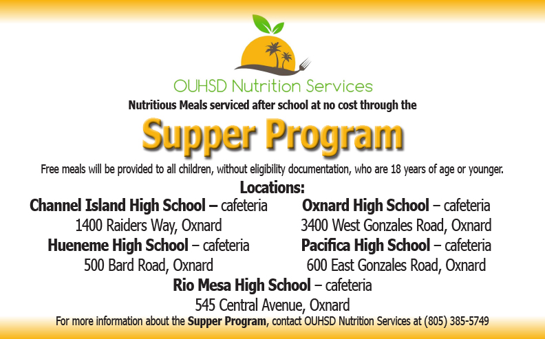 OUHSD Supper Program