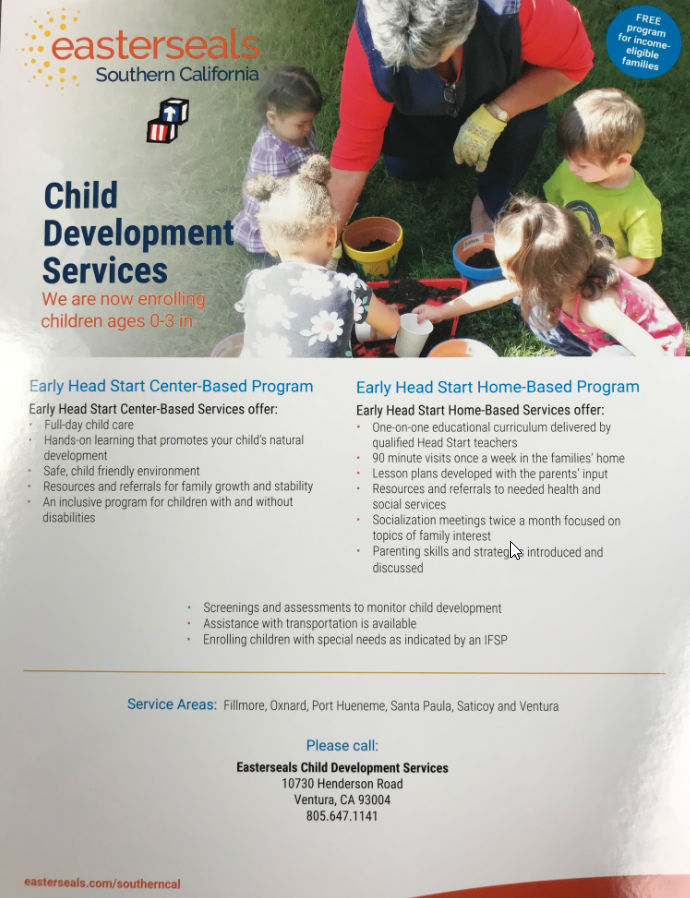 Easter Seals Child Development Services