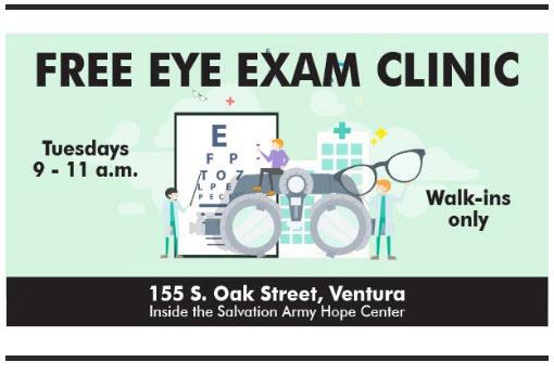 Free Eye Exam Clinic