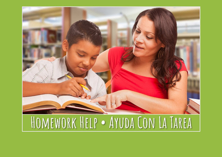Homework Help @ Your Library