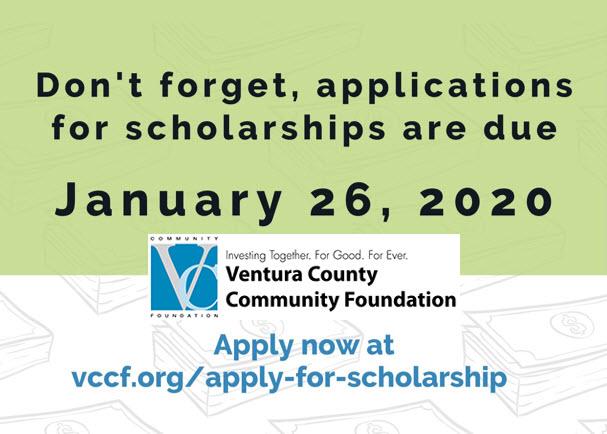 VCCF Scholarship Season is Open!