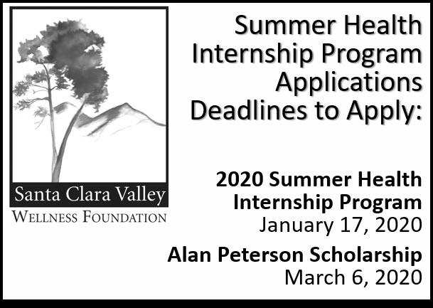 2020 Summer Health Internships