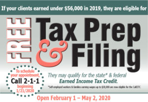 Free Tax Prep and Filing