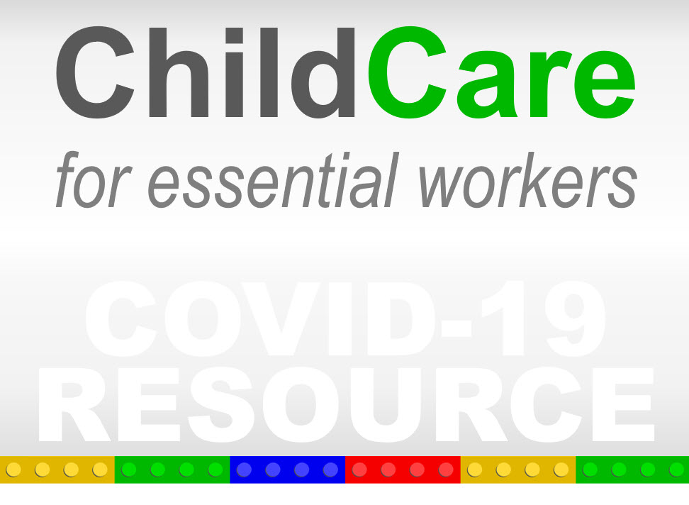 Childcare Centers Open for Essential Workers