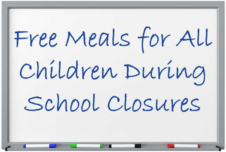 Free Meals for All Children during School Closures