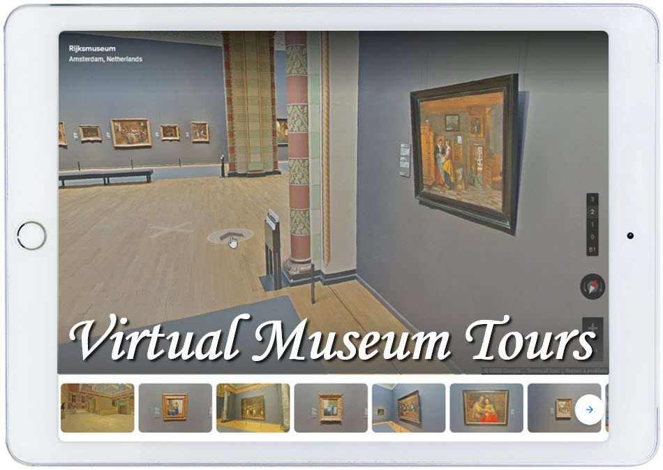 Famous Museums Offer Virtual Tours
