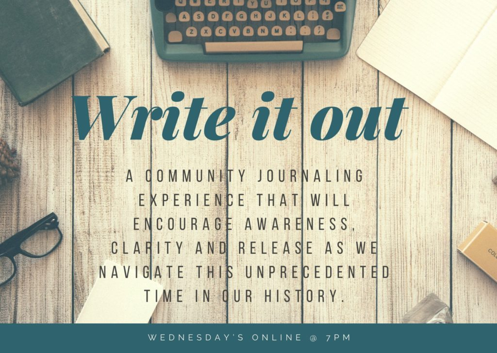 Write it Out – A Community Journaling Experience